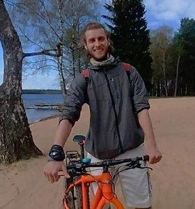 Futbolininku svajojęs tapti Antonas svajonių profesiją rado Visagine – plėtoja žaliąjį turizmą