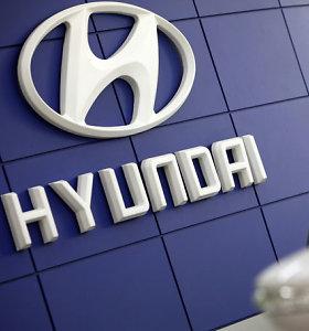 """JAV nubaudė """"Hyundai"""" 47 mln. JAV dolerių bauda už taršius dyzelinius variklius"""