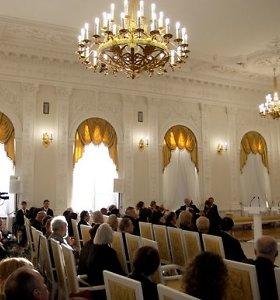 Trims nacionalinės premijos laureatams skirtos valstybinės pensijos