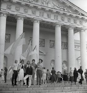 Baltijos kelio trisdešimtmečio proga – akcijos nuo Vilniaus iki Honkongo
