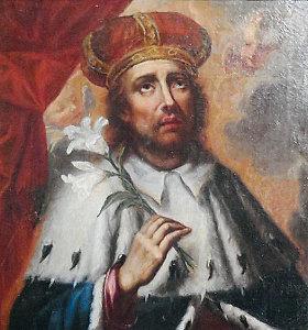 Vilniaus arkivyskupijai dovanojamas Lietuvos globėjo Šv. Kazimiero paveikslas