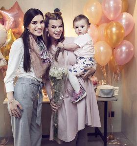 Lauros Mazalienės kūdikio sutiktuvių šventė