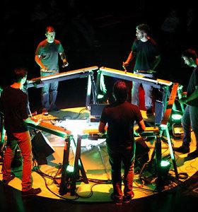 "Garsioji Niujorko mušamųjų grupė ""Mantra Percussion"" koncertuos Vilniuje"