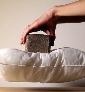 Magnetinė magija: levituojantys šachmatai ir plyta ant sklandančios pagalvės