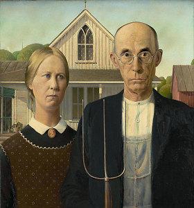 """Ar žinote, kaip gimė garsusis paveikslas """"Amerikietiška gotika""""?"""