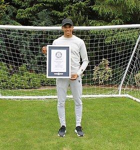 """""""Liverpool"""" gynėjas pateko į Guinnesso rekordų knygą"""