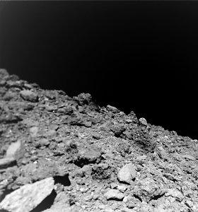Naujos asteroido nuotraukos suteikia užuominų apie planetų formavimąsi