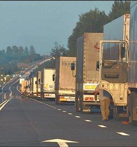 Vilkikų vairuotojai baiminasi vykti į Šiaurės Italiją, tačiau specialistai nemato tam pagrindo