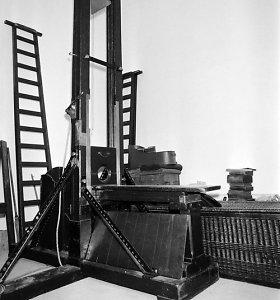 Mirties bausmė giljotinuojant: ar tikrai žmonės nieko nejausdavo?