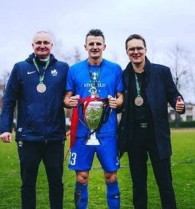 V.Dambrauskas nuskynė trofėjų – iškovojo Latvijos taurę