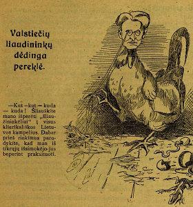 Rinkimų kova 1926 m. Lietuvos spaudoje: partijos mėtėsi kaltinimais net bedievyste ir terorizmu