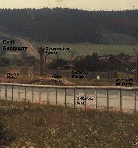 Mažasis Berlynas: Vokietijos kaimas, kuriame vis dar stovi Šaltojo karo metų siena