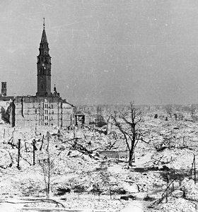 Iki pamatų sugriautas miestas: pamatykite, kokias kančias patyrė Varšuva per II pasaulinį karą