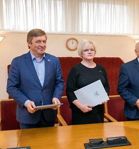 Pasakyta/Padaryta. R.Karbauskis žadėjo skaitlingesnę partijų koaliciją, o kas iš to išėjo?