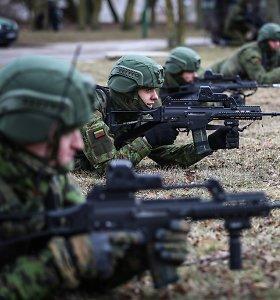 Lietuva planuoja dvigubai padidinti indėlį į NATO greitojo reagavimo pajėgas