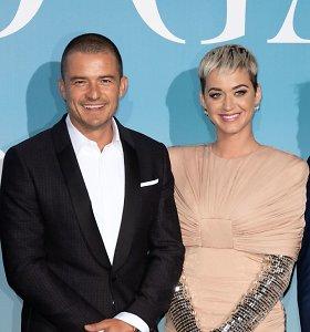 Per Valentino dieną Katy Perry susižadėjo su Orlando Bloomu