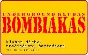 "Klubo ""Bombiakas"" logotipas"