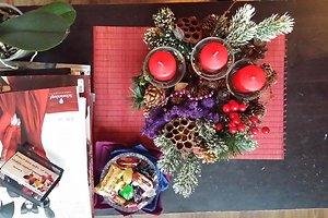 Loretos Z. (Skuodo raj.) kalėdinė dekoracija