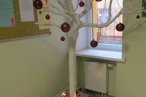 Visagino paramos vaikui centro kalėdinė dekoracija