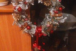 Ievos B. (Utena) kalėdinė dekoracija