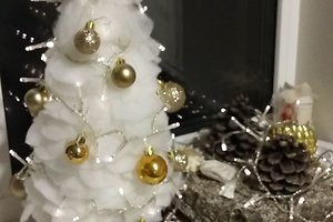 Rasos S. kalėdinė dekoracija