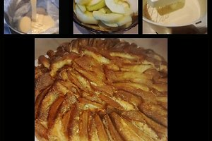 Burnoje tirpstantis obuolių pyragas (Indrės R. receptas)