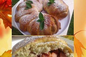 Obuolių ir spanguolių pyragas (Svetos B. receptas)