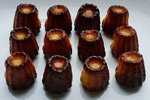 Prancūziški pyragėliai kanelės (Agnės P. receptas)
