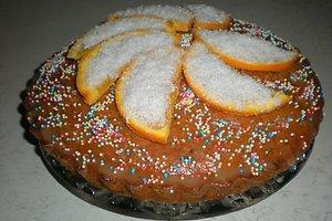 Norvegiškas Velykų pyragas su apelsinais ir šokoladu (Ievos V. receptas)