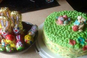 Velykinis tortas (Gražinos U. receptas)
