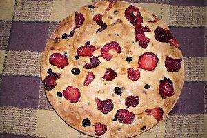Pyragas su braškėmis (Ingridos P. receptas)