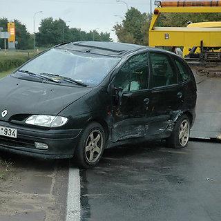 Renault avarija