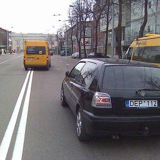 Volkswagen avarija
