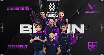 """Prognozes paneigę """"Gambit"""" tapo """"VALORANT Masters Berlin"""" čempionais"""