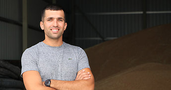 Jaunasis ūkininkas Darius Sabas – vienas didžiausių rapsų augintojų Lietuvoje