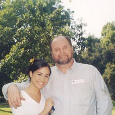 Vida Press nuotr./Meghan Markle su tėvu Thomu Markle'u