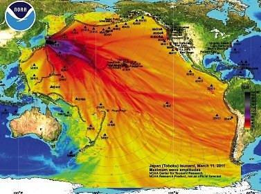 15min nuotr./Originalus NOAA grafikas su legenda