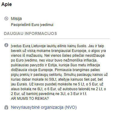 """15min nuotr./Puslapio """"Lietuva"""" aprašymas"""