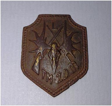 Užsakovo nuotr./Lietuvos taisyklingos medžioklės ir žūklės draugijos, įkurtos 1920 m., emblema