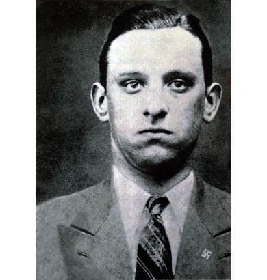 Wikimedia Commons nuotr./Karlas Silberbaueris, areštavęs Anne Frank šeimą