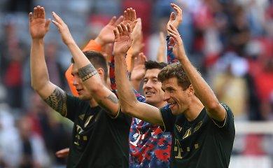 """Čempionų vakarėlis: """"Bayern"""" septyniais įvarčiais sumušė varžovus"""