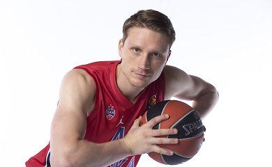 """M.Grigonis ir T.Šengelija praleis CSKA mūšį su """"Crvena zvezda"""""""