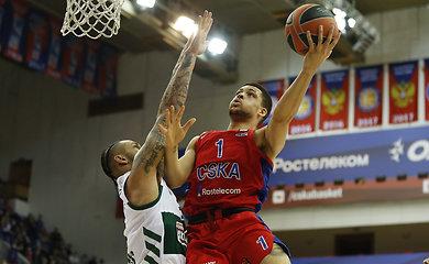 Paskutinėse Eurolygos reguliariojo sezono rungtynėse – dano vedamos CSKA pergalė