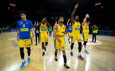 "113 taškų Vitorijoje surinkęs ""Maccabi"" nušlavė ""Baskonia"""