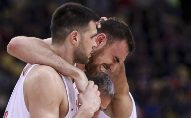 """""""Olympiakos"""" nukovė ASVEL, bet prarado N.Milutinovą"""
