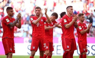 """Bundeslyga: Miuncheno """"Bayern"""" surengė įvarčių fiestą"""