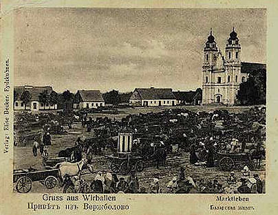 Wikimedia Commons / Public Domain nuotr./Virbalis XX a. pradžioje