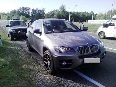 VSAT nuotr./Vogtas BMW visureigis