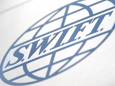 SWIFT logotipas.