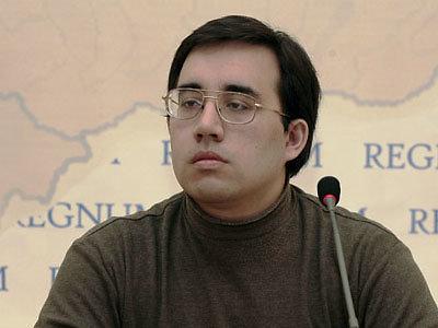 rosvesti.ru iliustr./Rusijos propagandininkas, istorikas Aleksandras Diukovas